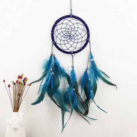 Indian Style Wall Hanging Feathers Dreamcatcher - ROYAL