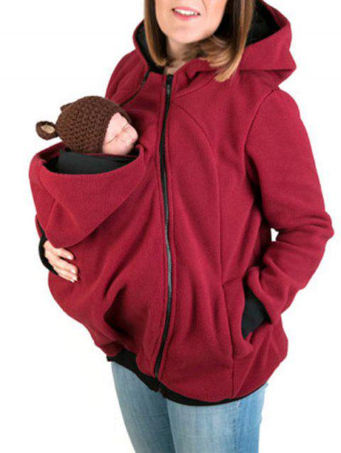 Baby Pouch Zip Up Hoodie