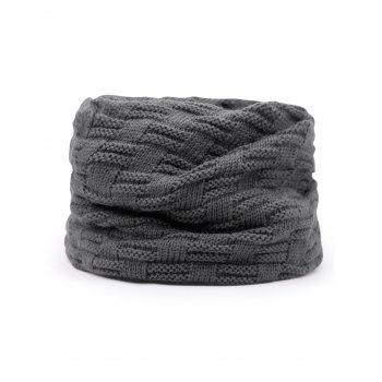 Multifunctional Ponytail Thicken Knitted Beanie Hat - GRAY
