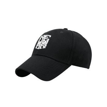 Outdoor Letter Pattern Embellished Baseball Cap - BLACK