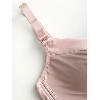 Daily Seamless Push Up Bra - LIGHT PINK 85B