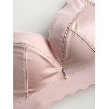 Daily Seamless Push Up Bra - LIGHT PINK 80B