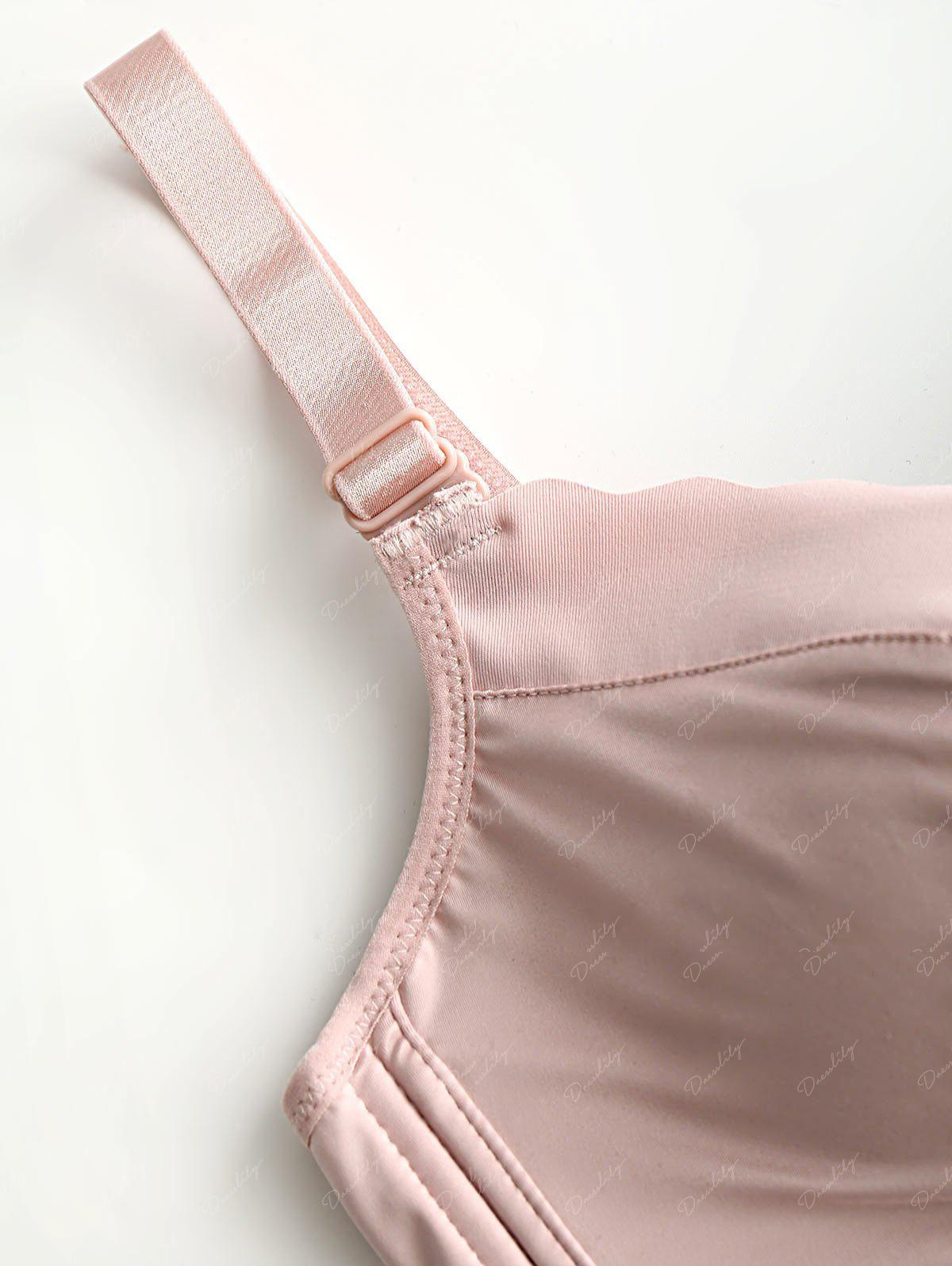 Daily Seamless Push Up Bra - LIGHT PINK 70B