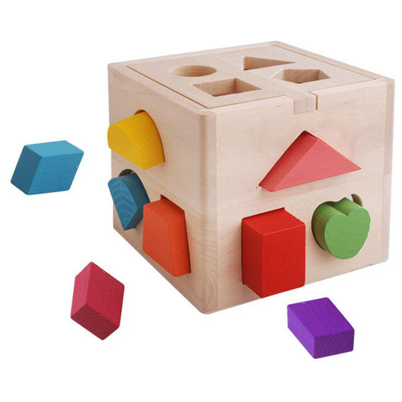 13 Holed Intelligence Box Shape Sorter Puzzle Wooden Toy black gas tank pad center cover cap for suzuki hayabusa 1999 2000 2001 2002 2003 2004 2005 206 2007 2008 2009 2012