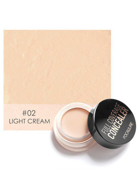 Professional Long Lasting Full Coverage Creamy Concealer - 02