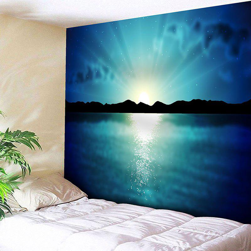 Natural Landscape Sunrise Print Wall Hanging Tapestry landscape print wall hanging bedroom tapestry