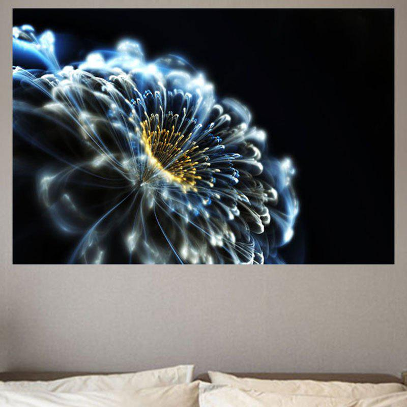Home Decor Dreamy Opening Flower Printed Wall Sticker все цены