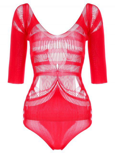 Saint Valentin creuse Teddy - Rouge ONE SIZE