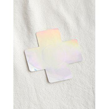 Cross Shape Nipple Sticker - BLUE ONE SIZE