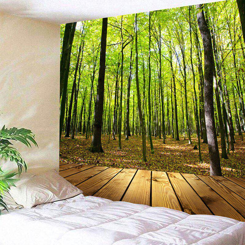 Forest Wood Grain Wall Decor Tapestry цена 2017