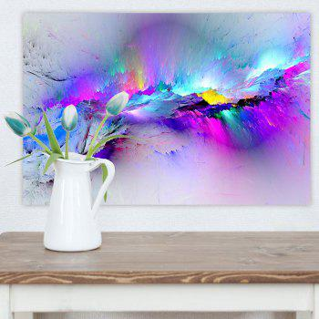 Snow Mountain Crack Print Home Decoration Wall Art Painting - COLORFUL 1PC:12*18 INCH( NO FRAME )