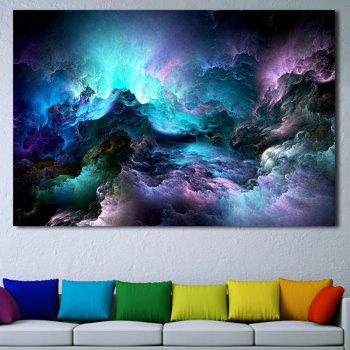 Starry Mountain Print Home Decor Wall Art Painting - COLORFUL 1PC:20*29.5 INCH( NO FRAME )