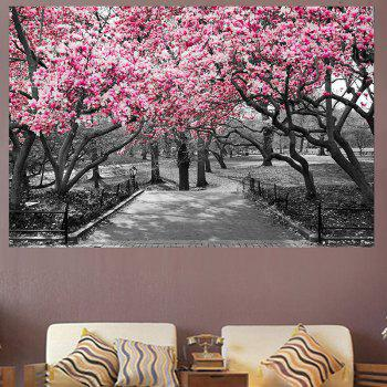 Peach Blossom Forest Print Home Decoration Wall Art Painting - PINK PINK