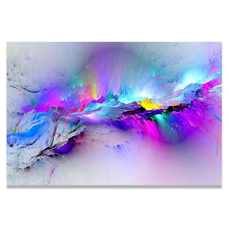 Snow Mountain Crack Print Home Decoration Wall Art Painting - COLORFUL 1PC:20*29.5 INCH( NO FRAME )