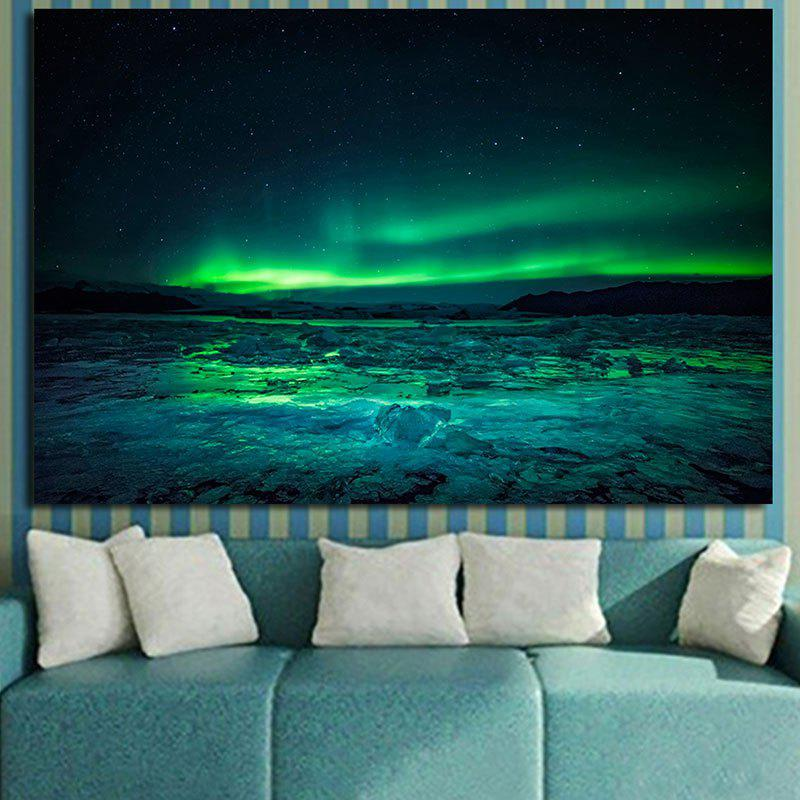 Night Starlight Print Home Decor Wall Art Painting - COLORFUL 1PC:12*18 INCH( NO FRAME )