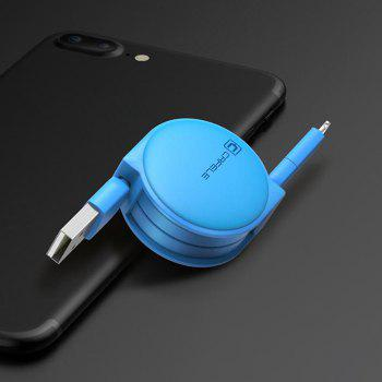 Retractable USB Cable for Android Iphone - LAKE BLUE LAKE BLUE
