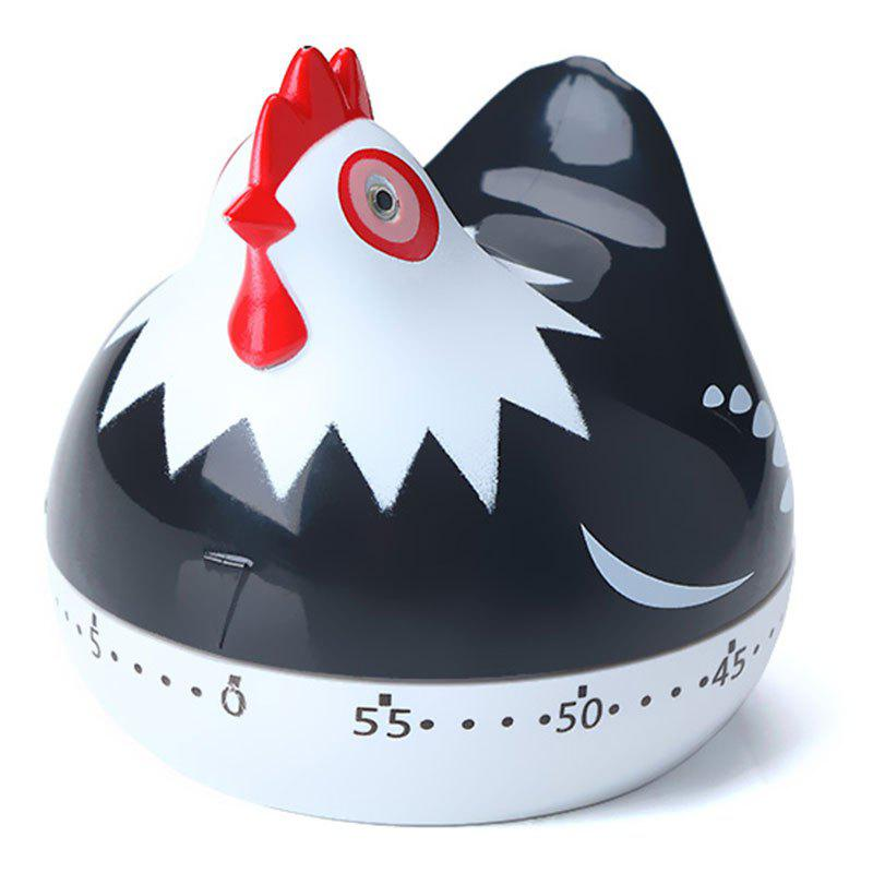 Counter 60 Minute Mechanical Hen Alarm Plastic Kitchen Timer tomato kitchen mechanical timer