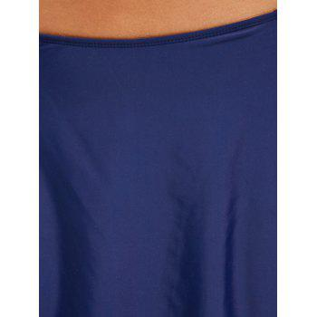 Summer Beach Swimming Skirt - PURPLISH BLUE M