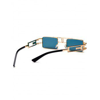 Cut Out Carver Frame Square Sunglasses -  JACINTH
