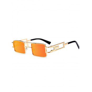 Cut Out Carver Frame Square Sunglasses - JACINTH JACINTH