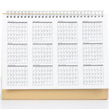Calendrier polyvalent Creative Notebook 2018 - Blanc L