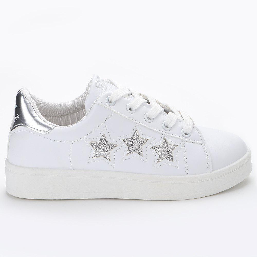 Glitter Stars Skate Shoes ensemble stars 2wink cospaly shoes anime boots custom made