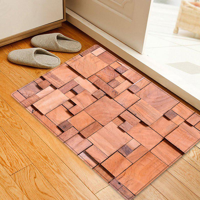 Geometric Woodgrain Pattern Floor Area Rug цепочка с подвеской anna jewelry