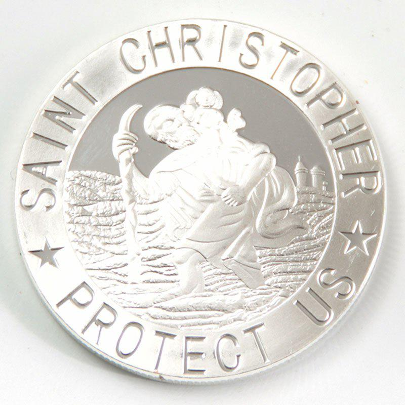 Cross Saint Christopher Protect Us Commemorative Collector's Coin christopher cross mostazal