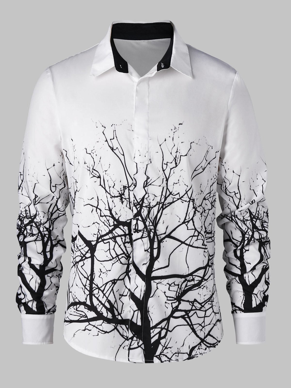 Tree Branch Pattern Shirt