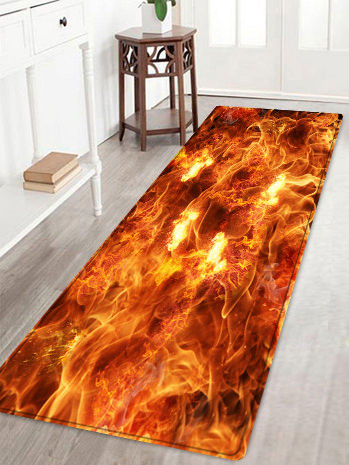 Sea of Fire Pattern Floor Area Rug fishes in the sea pattern floor area rug