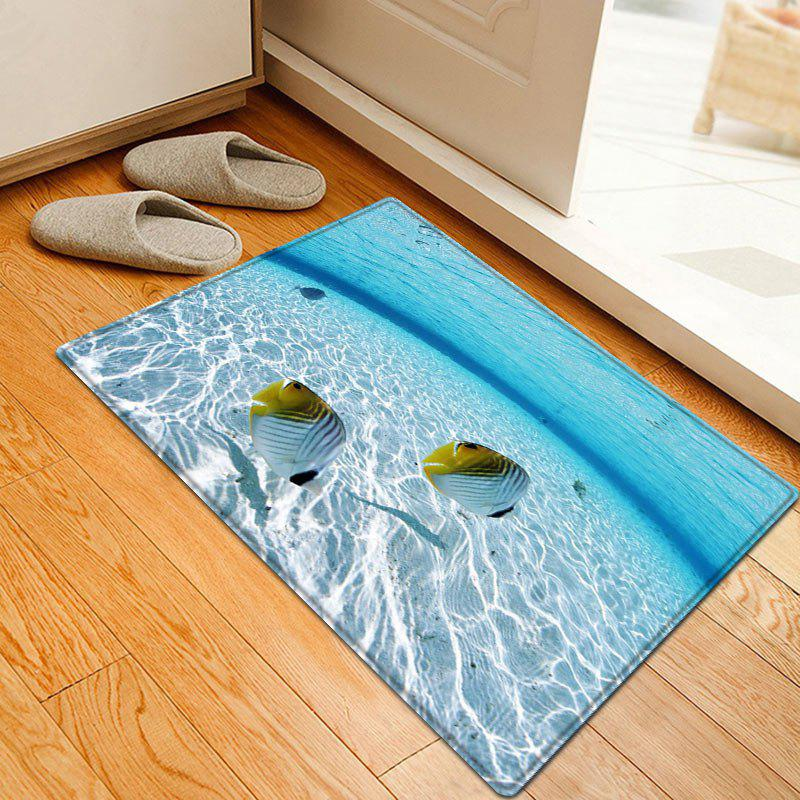 Fishes In The Sea Pattern Floor Area Rug genotoxic potential in fishes