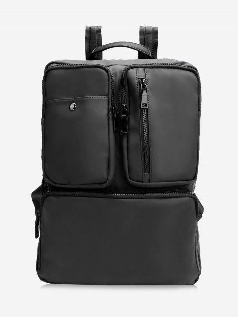Multipurpose Laptop Backpack with Top Handle - BLACK