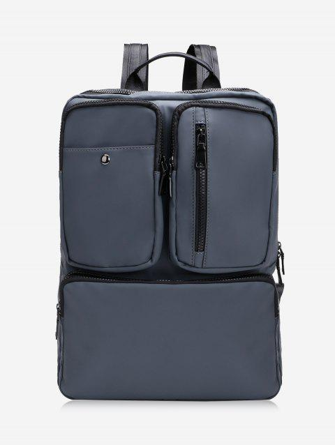 Multipurpose Laptop Backpack with Top Handle - DEEP GRAY