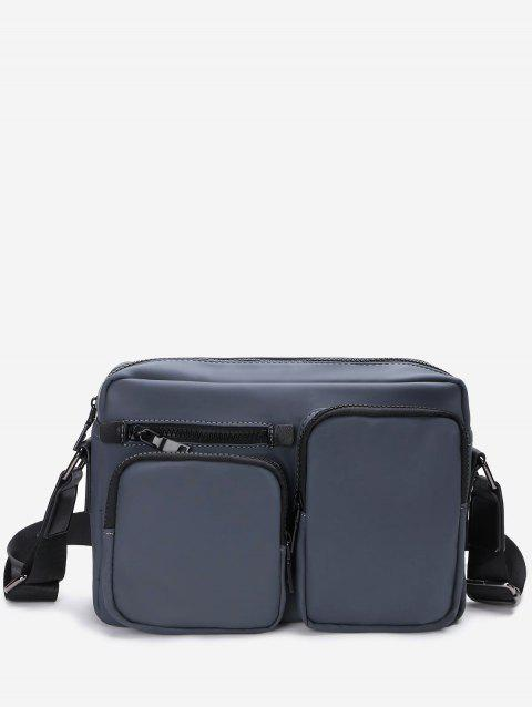 Multi Function Messenger Bag - DEEP GRAY