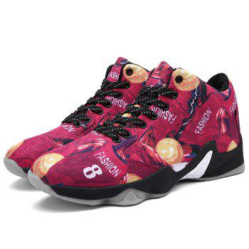 Breathable Running Basketball Sports Shoes - RED 41