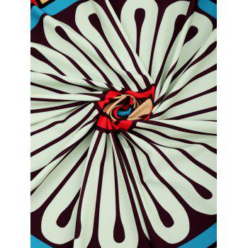 Graphic Sunbath Beach Throw - COLORMIX ONE SIZE