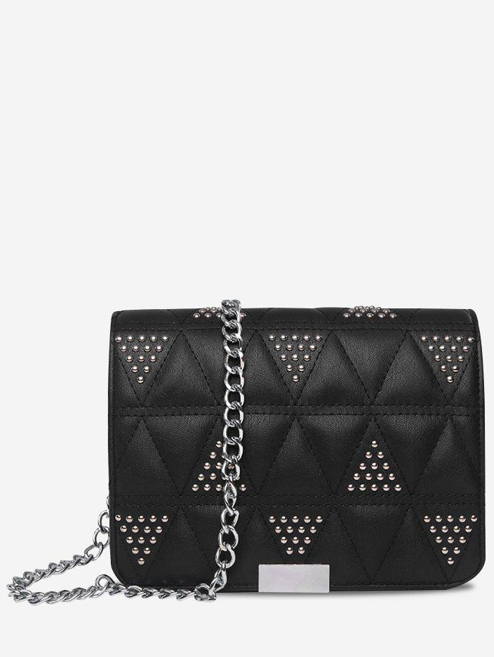 2018 Studded Quilted Crossbody Bag Black In Crossbody Bags Online