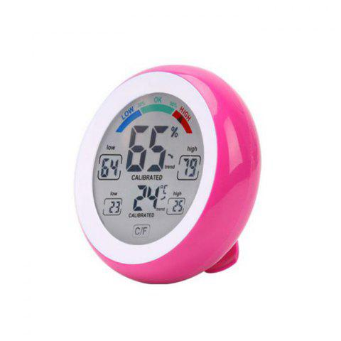 Temperature Humidity Touch Screen Digital Thermometer Hygrometer - ROSE MADDER