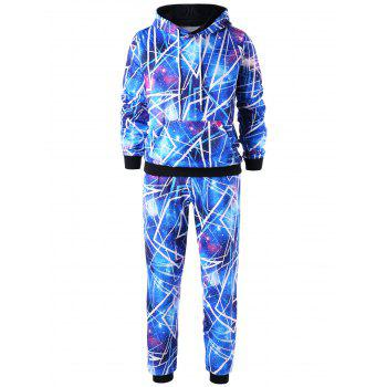 Galaxy Hoodie and Jogger Pants
