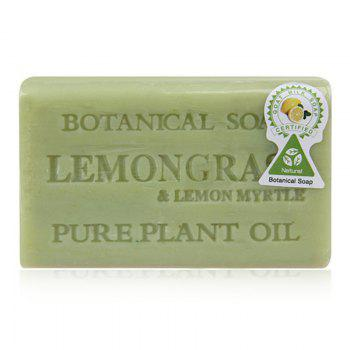 Lemon Handmade Skin Clean Botanical Soap Bar - GREEN GREEN
