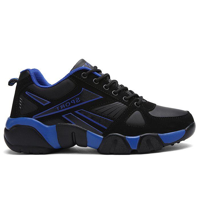 Running Sports Color Block Athletic Sneakers - DARK BLUE 44