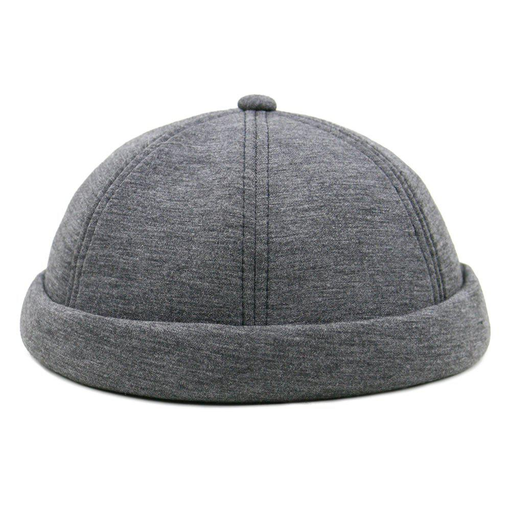 Unique Line Embroidery Adjustable Beret - DEEP GRAY