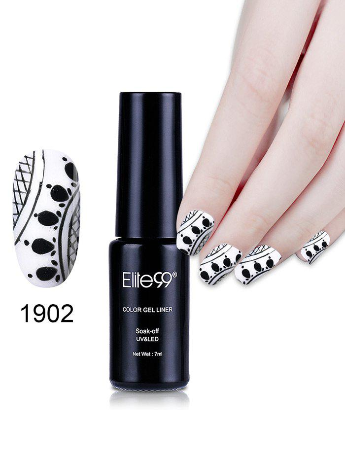 7ML Color Gel Soak Off Nail Art DIY Nail Lacquer -