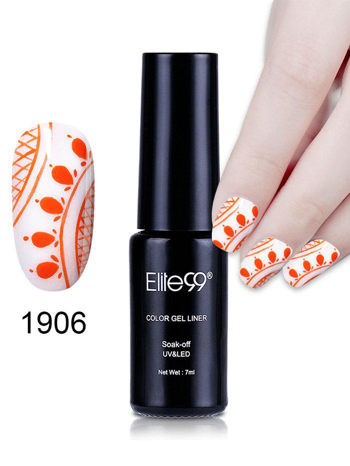 7ML Color Gel Soak Off Nail Art DIY Nail Lacquer - 06