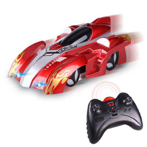 Wall Climbing Car With Remote Control - RED 14*8.5*5CM