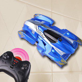 Wall Climbing Car With Remote Control - BLUE BLUE