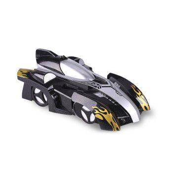 Wall Climbing Car With Remote Control - BLACK 14*8.5*5CM