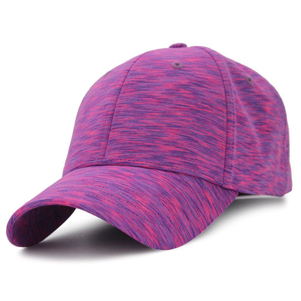 Color Splice Pattern Magic Stickers Baseball Hat - TUTTI FRUTTI