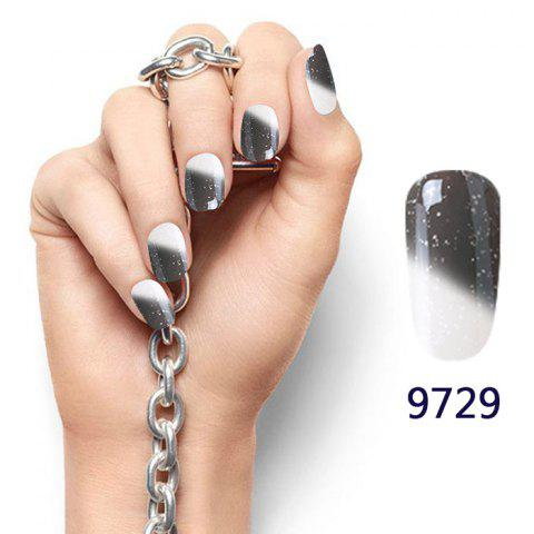 Snowy Temperature Change Color Soak Off Nail Art Nail Polish - 15