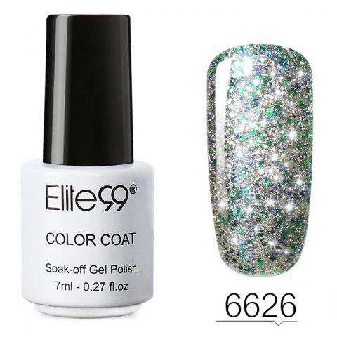 7 ML Glitter Colors Soak Off Nail Art DIY Shiny Nail Polish - 26